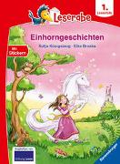 Cover-Bild zu Einhorngeschichten - Leserabe ab 1. Klasse - Erstlesebuch für Kinder ab 6 Jahren