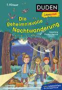 Cover-Bild zu Duden Leseprofi - Die geheimnisvolle Nachtwanderung, 1. Klasse