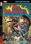 Cover-Bild zu Claremont, Chris (Ausw.): Ms. Marvel Epic Collection: This Woman, This Warrior