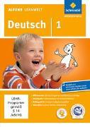 Cover-Bild zu Alfons Lernwelt / Alfons Lernwelt Lernsoftware Deutsch - aktuelle Ausgabe