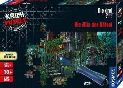 Cover-Bild zu Krimipuzzle ??? 300 Teile / Die Villa der Rätsel