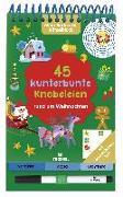 Cover-Bild zu Mein Ruckzuck-Rätselblock. 45 kunterbunte Knobeleien rund um Weihnachten