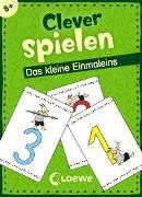 Cover-Bild zu Honnen, Falko (Illustr.): Clever spielen - Das kleine Einmaleins