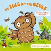 Cover-Bild zu Weber, Susanne: Die Eule mit der Beule - Ein Liederhörbuch für Kleine