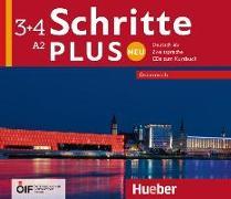 Cover-Bild zu Schritte plus Neu 3+4 - Österreich von Hilpert, Silke