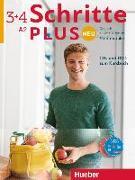 Cover-Bild zu Schritte plus Neu 3+4. Audio-CDs und 1 DVD zum Kursbuch. Medienpaket von Niebisch, Daniela