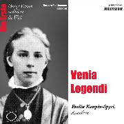 Cover-Bild zu Venia Legendi - Die Juristin Emilie Kempin-Spyri (Audio Download) von Sichtermann, Barbara