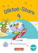 Cover-Bild zu Diktat-Stars 4. Schuljahr. TING-Ausgabe. Übungsheft mit Lösungen von Auer, Maria