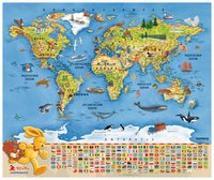 Cover-Bild zu Felix-Weltkarte von Langen, Annette