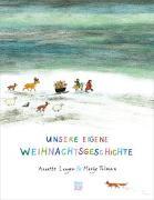 Cover-Bild zu Unsere eigene Weihnachtsgeschichte von Langen, Annette