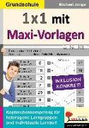 Cover-Bild zu 1x1 mit Maxi-Vorlagen (eBook) von Junga, Michael