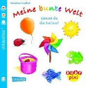 Cover-Bild zu Carlsen Verkaufspaket. Baby Pixi 38. Meine bunte Welt von Gruber, Denitza (Illustr.)