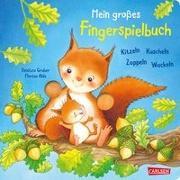 Cover-Bild zu Mein großes Fingerspielbuch: Kitzeln, Kuscheln, Zappeln, Wackeln von Ahle, Florian