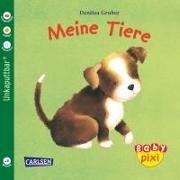 Cover-Bild zu Carlsen Verkaufspaket Baby Pixi. Gruber, Meine Tiere von Gruber, Denitza (Illustr.)