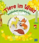 Cover-Bild zu Tiere im Wald von Gruber, Denitza (Illustr.)