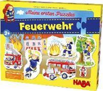 Cover-Bild zu Meine ersten Puzzles - Feuerwehr von Gruber, Denitza (Illustr.)