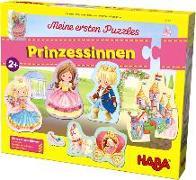 Cover-Bild zu Meine ersten Puzzles - Prinzessinnen von Gruber, Denitza (Illustr.)