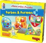 Cover-Bild zu Meine ersten Puzzles - Farben & Formen von Gruber, Denitza (Illustr.)