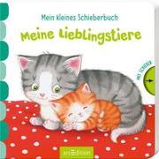Cover-Bild zu Mein kleines Schieberbuch - Meine Lieblingstiere von Gruber, Denitza (Illustr.)