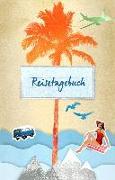 Cover-Bild zu Reisetagebuch - mit Stickern für jede Reisesituation