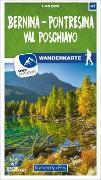 Cover-Bild zu Hallwag Kümmerly+Frey AG (Hrsg.): Bernina - Pontresina / Val Poschiavo 47 Wanderkarte 1:40 000 matt laminiert. 1:40'000