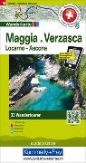 Cover-Bild zu Hallwag Kümmerly+Frey AG (Hrsg.): Maggia, Verzasca, Locarno-Ascona Touren-Wanderkarte Nr. 18. 1:50'000