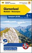 Cover-Bild zu Hallwag Kümmerly+Frey AG (Hrsg.): Glarnerland-Muotatal-Klausenpass Wanderkarte Nr. 12. 1:60'000