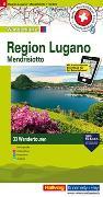 Cover-Bild zu Hallwag Kümmerly+Frey AG (Hrsg.): Region Lugano, Mendrisiotto Touren-Wanderkarte Nr. 8. 1:50'000