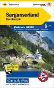 Cover-Bild zu Hallwag Kümmerly+Frey AG (Hrsg.): Sarganserland, Liechtenstein Wanderkarte MATT LAMINIERT Nr. 30. 1:60'000