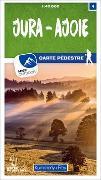 Cover-Bild zu Hallwag Kümmerly+Frey AG (Hrsg.): Jura - Ajoie 04 Wanderkarte 1:40 000 matt laminiert. 1:40'000