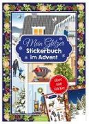 Cover-Bild zu Mein Glitzerstickerbuch im Advent