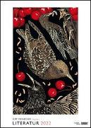 Cover-Bild zu Menschik, Kat (Illustr.): Kat Menschik illustriert Literatur - Literarischer Posterkalender in Bildern 2022 - Wand-Kalender von DUMONT - Format 50 x 70 cm