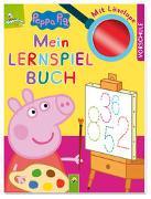 Cover-Bild zu Schwager & Steinlein Verlag: Peppa Pig - Mein Lernspielbuch mit Löselupe