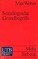 Cover-Bild zu Weber, Max: Soziologische Grundbegriffe