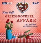 Cover-Bild zu Falk, Rita: Grießnockerlaffäre (mp3-Ausgabe)
