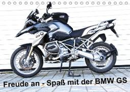 Cover-Bild zu Ascher, Johann: Freude an - Spaß mit der BMW GS (Tischkalender 2021 DIN A5 quer)