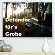 Cover-Bild zu Ascher, Johann: Defender für's Grobe (Premium, hochwertiger DIN A2 Wandkalender 2021, Kunstdruck in Hochglanz)