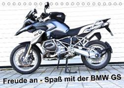 Cover-Bild zu Ascher, Johann: Freude an - Spaß mit der BMW GS (Tischkalender 2022 DIN A5 quer)