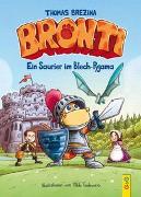 Cover-Bild zu Brezina, Thomas: Bronti - Ein Saurier im Blech-Pyjama