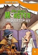 Cover-Bild zu Brezina, Thomas: Alle meine Monster. Das Skelett im Jet