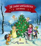 Cover-Bild zu Loewe Weihnachtsbücher (Hrsg.): 24 Lieder und Gedichte zum Advent