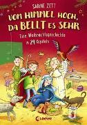 Cover-Bild zu Zett, Sabine: Vom Himmel hoch, da bellt es sehr - Eine Weihnachtsgeschichte in 24 Kapiteln