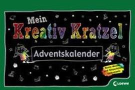 Cover-Bild zu Loewe Kratzel-Welt (Hrsg.): Mein Kreativ-Kratzel Adventskalender