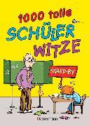 Cover-Bild zu Grasberger, Ulrich (Hrsg.): 1.000 tolle Schülerwitze (eBook)