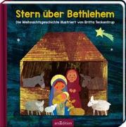 Cover-Bild zu Teckentrup, Britta (Illustr.): Stern über Bethlehem