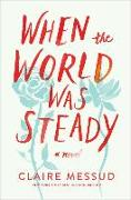 Cover-Bild zu Messud, Claire: WHEN THE WORLD WAS STEADY