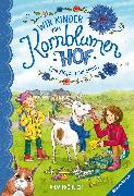 Cover-Bild zu Fröhlich, Anja: Wir Kinder vom Kornblumenhof, Band 4: Eine Ziege in der Schule (eBook)