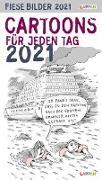 Cover-Bild zu Fiese Bilder Cartoons für jeden Tag 2021: Tageskalender
