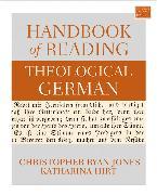 Cover-Bild zu Jones, Christopher Ryan: Handbook of Reading Theological German