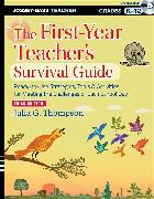 Cover-Bild zu Thompson, Julia G.: The First-Year Teacher's Survival Guide (eBook)